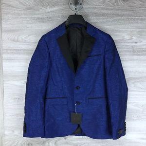 14th & Union Slub Extra Trim Fit Suit Jacket